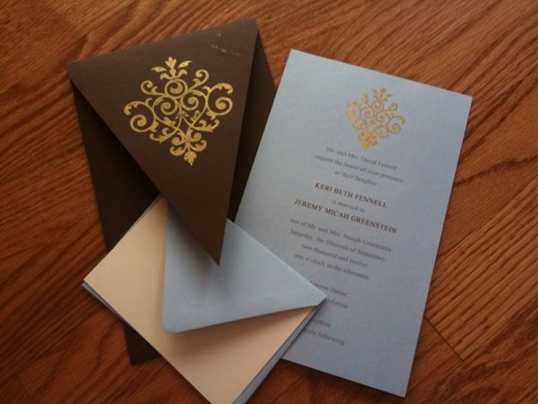 16 best DIY Weddings, Invitations, and Crafts images on Pinterest ...