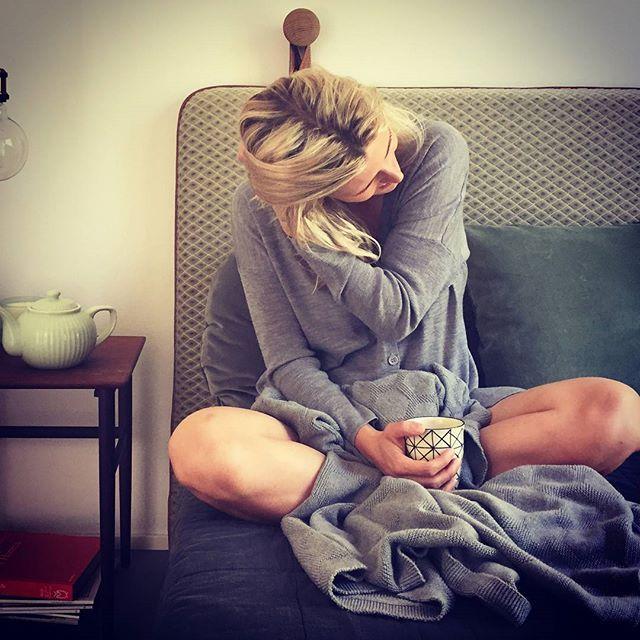 Slow mornings #them #bythornam #headboard #lounge #leather #velvet #danishdesign #handmade #design #slowliving