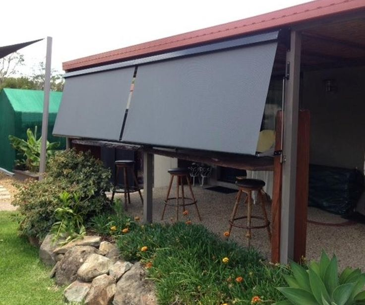Auto Roll Up Awnings Gold Coast