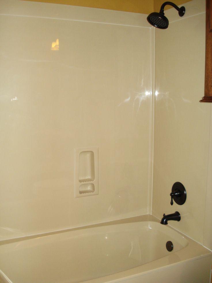 Fiberglass Tub Shower Combo Remodel