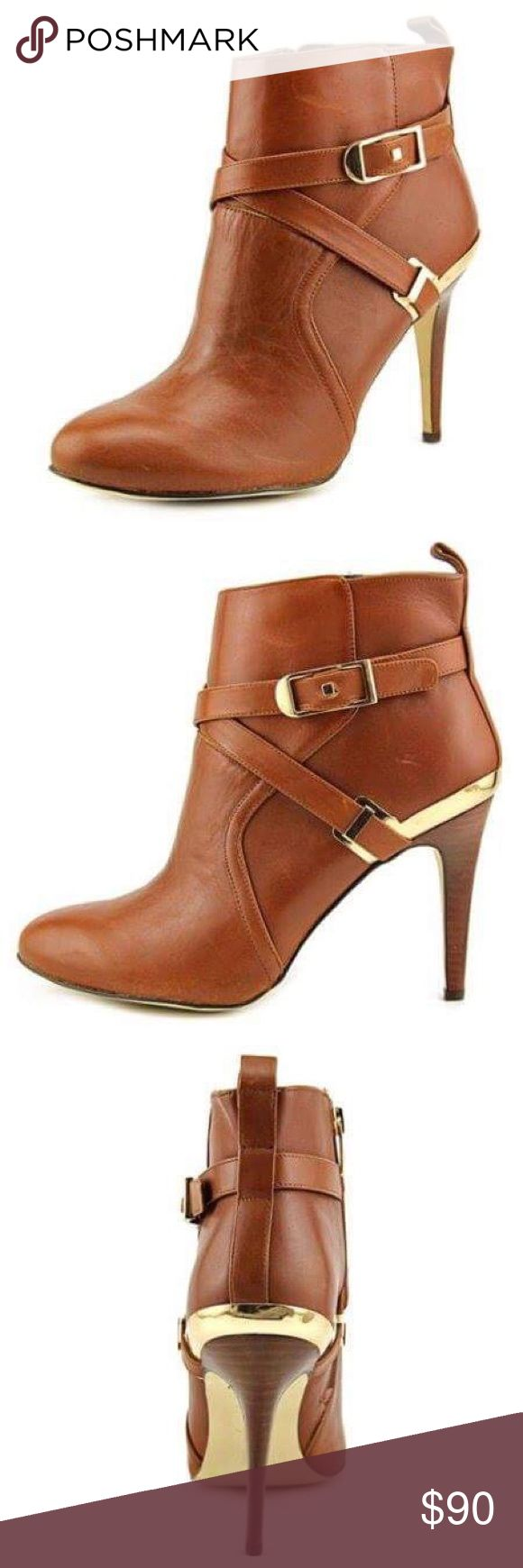 NIB Marc Fisher Aprille Leather Bootie Size too big for me  Marc Fisher  Shoes Ankle Boots & Booties