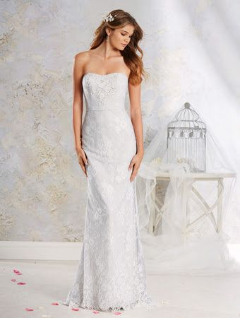 Alfred Angelo 8540- lace gown- Sugar and Spice UK -Lincoln