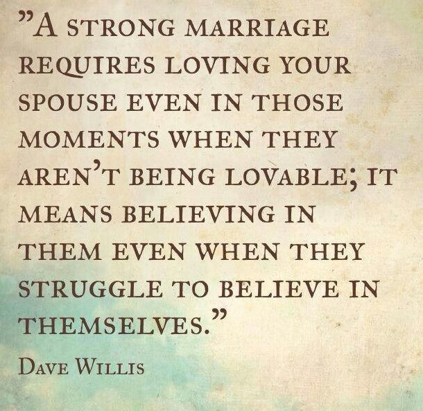 Strong marriage… Click for more quotes on marriage: http://www.rewards4mom.com/11-quotes-help-marriages-hard-times/