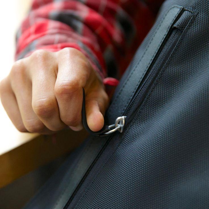 Northwest backpack detail front zipper