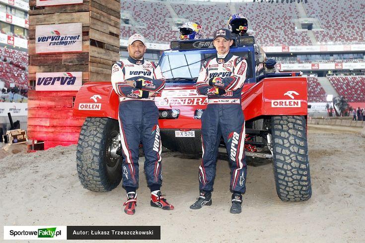 Prezentacja nowego samochodu rajdowego Adama Małysza na Dakar 2015