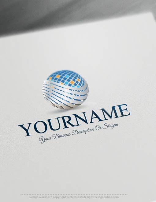 Create a Logo Free – Free Logo Maker – 3D company Logo Templates