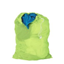 LBG-02810 Mesh Laundry Bag, Lime