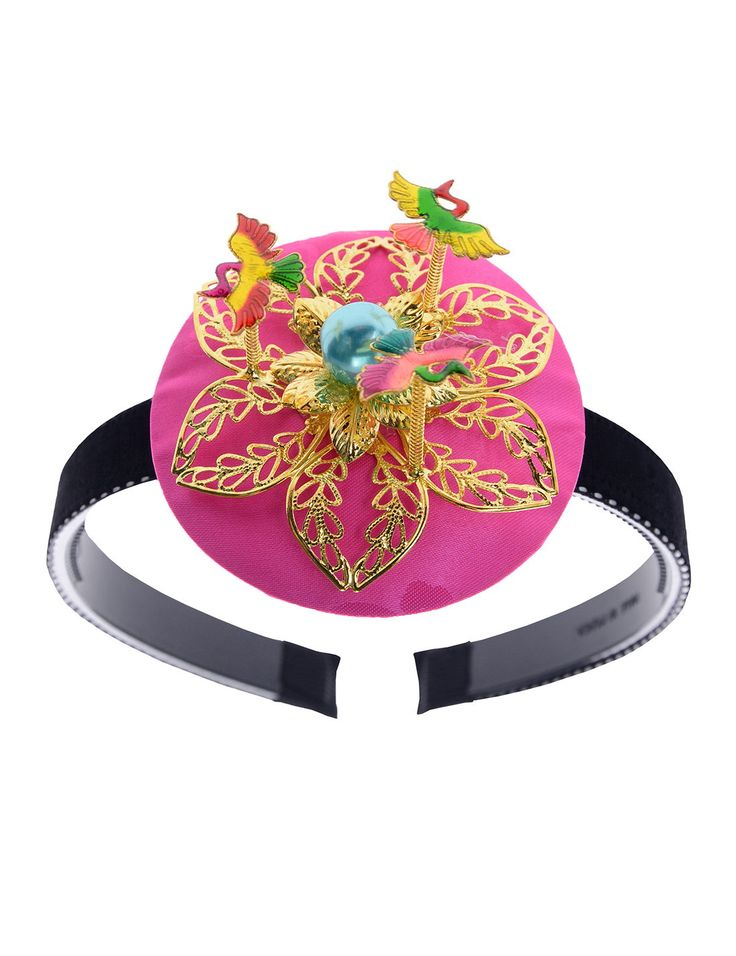 "[KH318] ""Little Girls Korea Tradition Costume Accessory Oriental Hair Bands Hoop"" by SUHYUNKIM → #TheLees #Suhyunkim #ChildrensFashion"