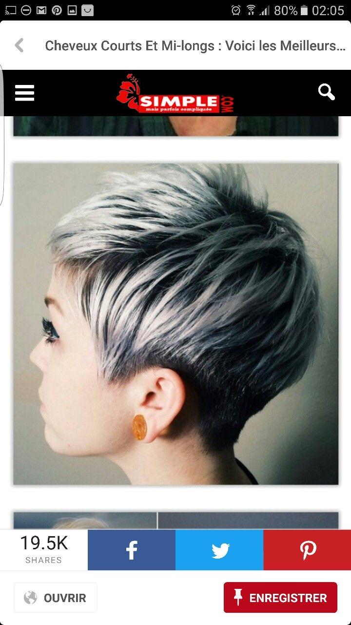 Très Les 22 meilleures images du tableau cheveux sur Pinterest  FK64