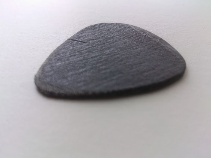 Micarta (denim) thin/ light guitarpick