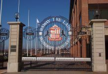The Stadium of Light gates