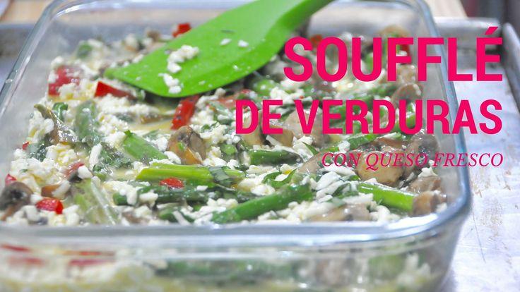 Soufflé de Verduras Rápido y Fácil
