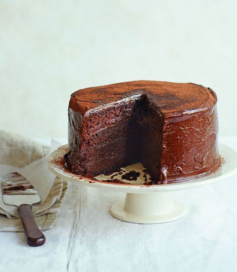 Great British Bake Off winner John Whaite struts his stuff with this super moist and moreish chocolate cola cake.