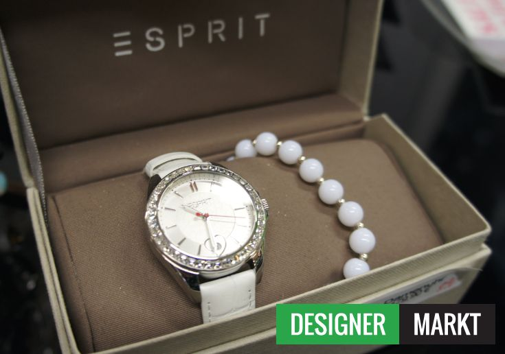 elegante #Esprit Damen Uhr mit Armband