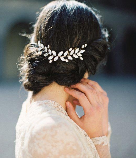 Haarschmuck & Kopfputz - Braut Haarkamm, Hochzeit Haarschmuck - ein Designerstück von Bianoco bei DaWanda