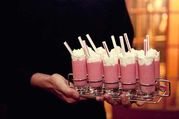 Top 10 Wedding Desserts Milkshakes