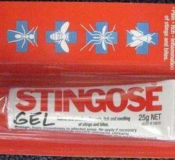 Stingoes Gel 25gm Tube http://www.efirstaid.com.au