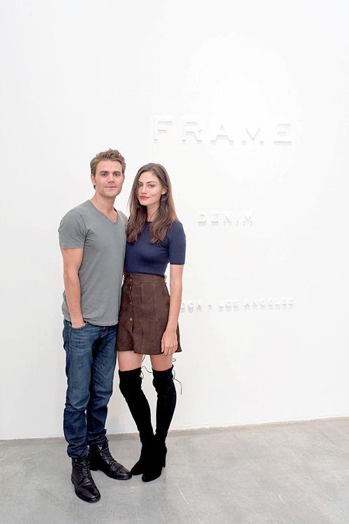 Paul Wesley & Phoebe Tonkin