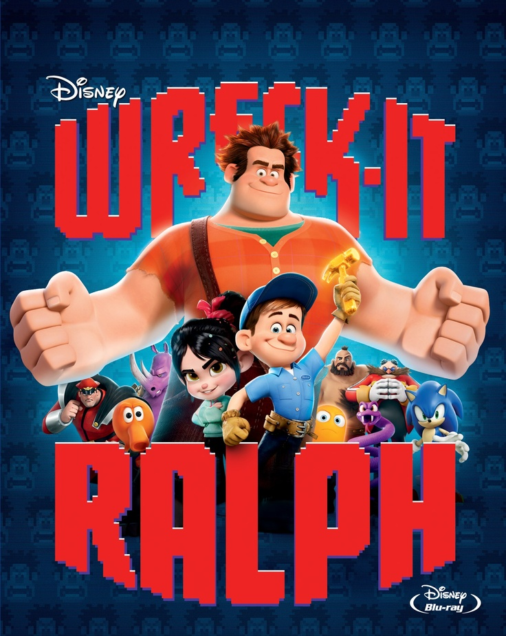 It's here! Wreck-it Ralph is now available on Blu-ray combo pack!  http://di.sn/r1w