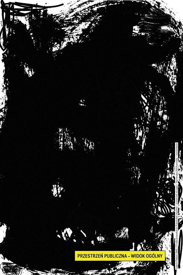 Plakat Agnieszki Ziemiszewskiej - wymiary: 120 x 180 cm - cena: 35 zł / A poster by Agnieszka Ziemiszewska - size: 120 x 180 cm - price: 35 zł