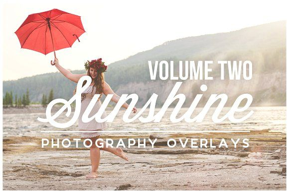 Sunshine Photography Overlays Vol. 2 by Ashley Alexandra Design on @creativemarket