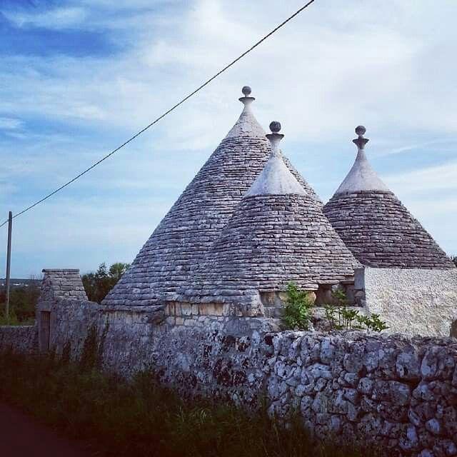 Trulli in Puglia