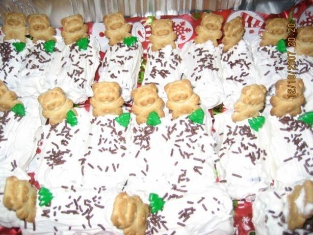 Yule Logs-Christmas, Classroom Treats