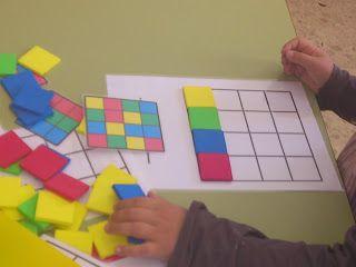 Aquí os dejo un juego que creé basándome en una idea que encontré navegando por internet. Yo tengo algunos modelos de colores y de tablas pe...
