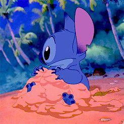 Awe, Stitch. :)