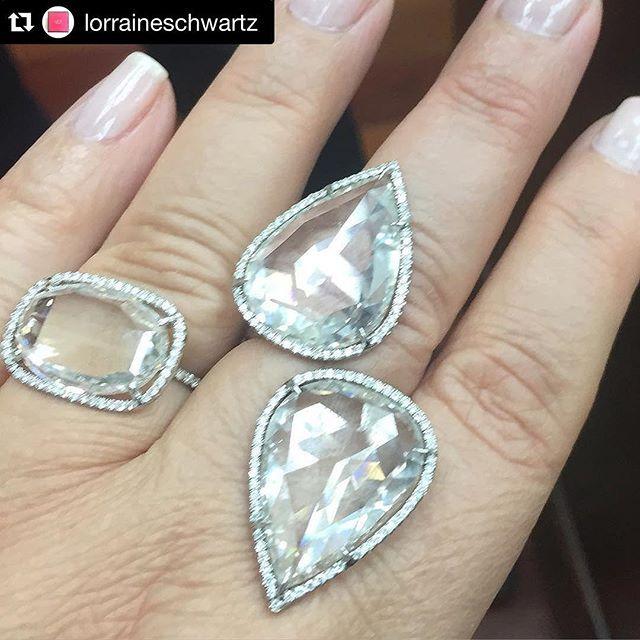 Lorraine Schwartz jumbo rose cut diamonds