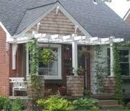 1000 images about eyebrow pergolas on pinterest be for Eyebrow pergola plans