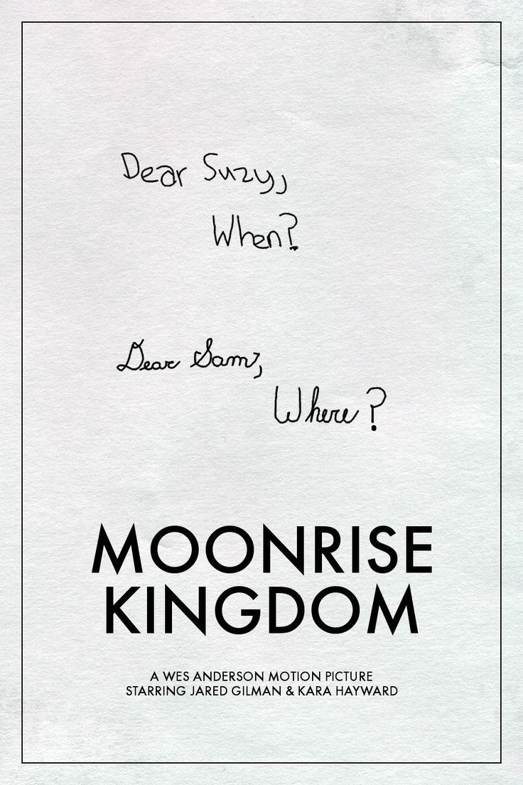 Otra forma de ver Moonrise Kingdom