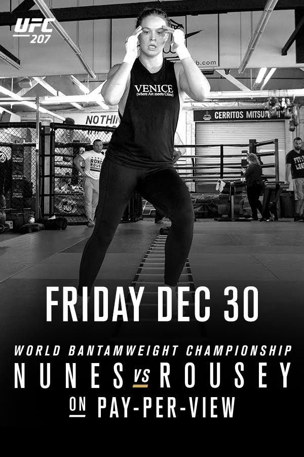 Witness the return of Ronda Rousey as she tries to get her belt back from the current bantamweight champ, Amanda Nunes. Streaming LIVE on Friday, December 30. Order now!