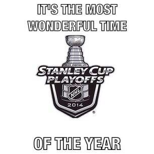 The Most Wonderful Time of the Year!!! 2014 Stanley Cup Playoffs