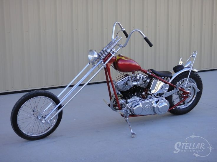52 Panhead chopper, for sale on eBay | Mmm-motorcycles | Pinterest