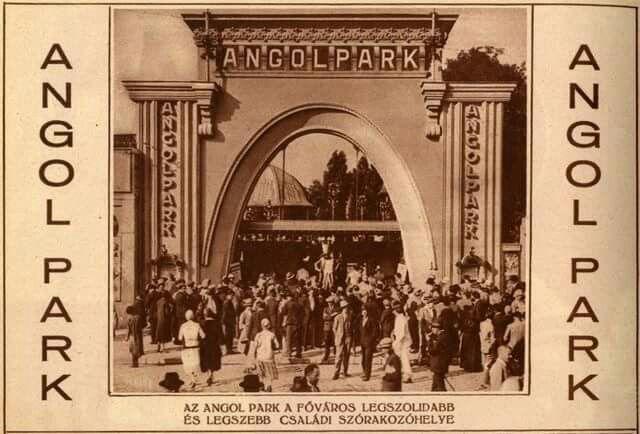 1910. Megnyílt az Angolpark a Városligetben