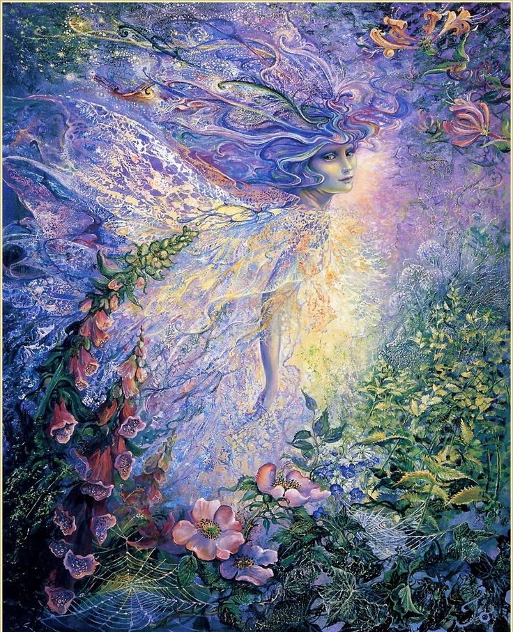 7 das Artes: A arte fantástica de Josephine Wall.