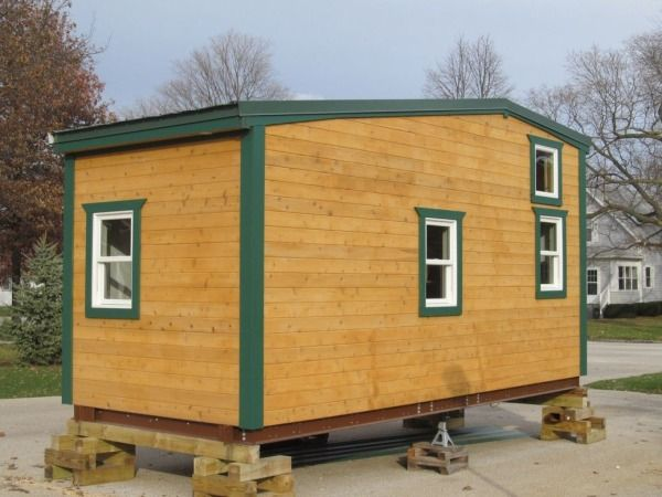 180 sq ft tiny house for sale with extra 64 sq ft - Little Houses For Sale