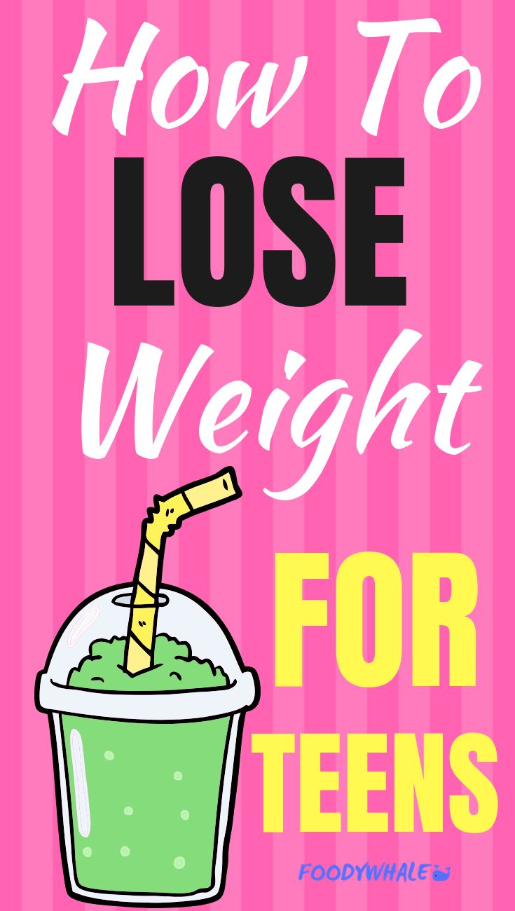 How to Lose Weight Fast for Teens in a Week