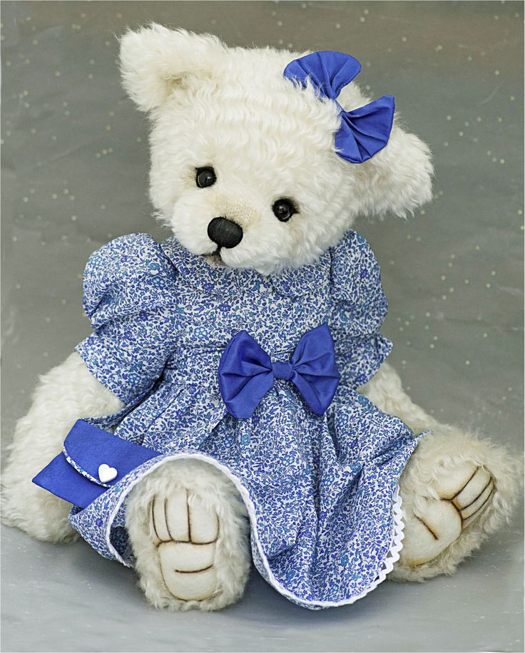 One of my dressed bears....