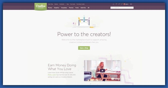 Creative Market - Making money online is not a myth, instead, every day the number of online entrepreneurs increase. Here's everything you need to know as a beginner