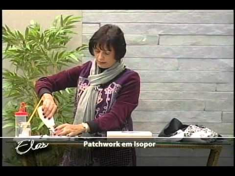 Patchwork no isopor Arterapia - YouTube
