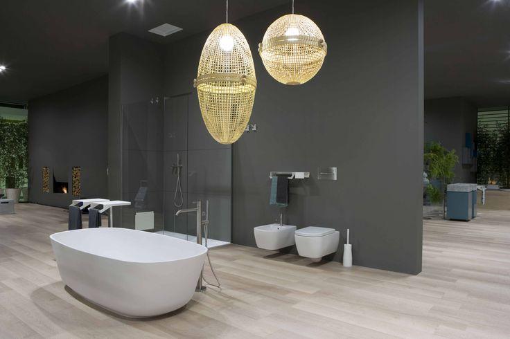 Bathtub BAÌA in Cristalplant® by Carlo Colombo / @antoniolupispa