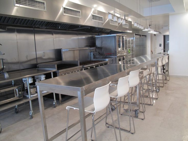 This Commercial Kitchen Design Would Look Great With Stainless Steel Tile Part 51