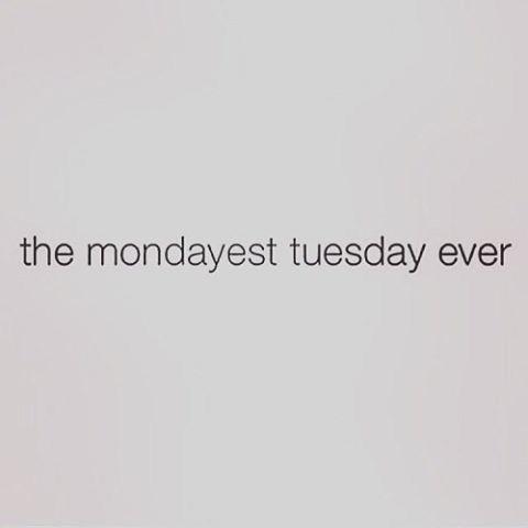 Mondayest Tuesday Ever!!!