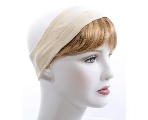 Instant Hair Headband Headband To Attach Hair Use With Etsy In 2021 Headband Hairstyles Hat Hairstyles Cancer Hats