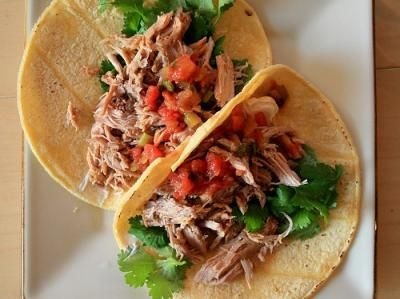 Slow-simmered pork, with a step at the end to add crispiness, carnitas are an amazing option for stuffing tacos, burritos and tamales. Carnitas are easy to make, but it does take some time. Traditional carnitas are always simmered in lard; it adds flavor and tenderness. See the variations for healthier options if all that fat scares you away.