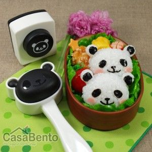 Moule à Onigiri & Perforatrice Nori Panda / Panda Onigiri Molds and Nori Punch