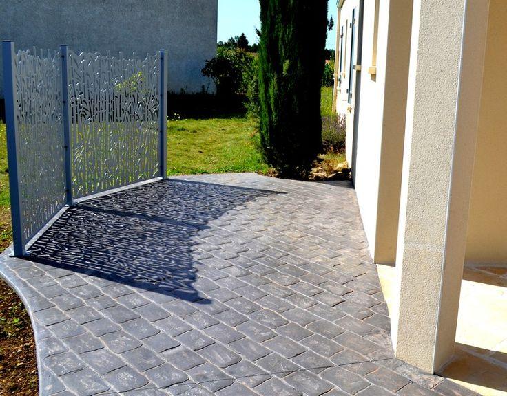 213 best images about bÉton imprimÉ   sols (chemin, terrasse ...