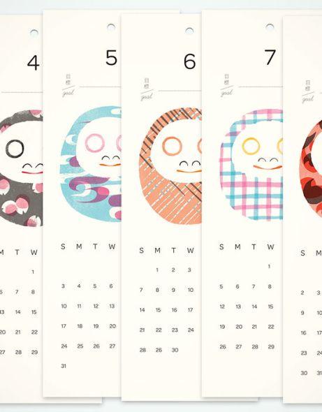 だるまカレンダー